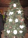 Maison du Père Noël le sapin de tétines