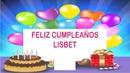 feliz cumpleaños Lisbet