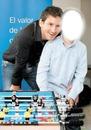 Messi y un niño