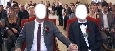 montage photo mariage gay pixiz. Black Bedroom Furniture Sets. Home Design Ideas