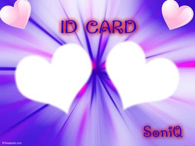 ID CARD SONIQ