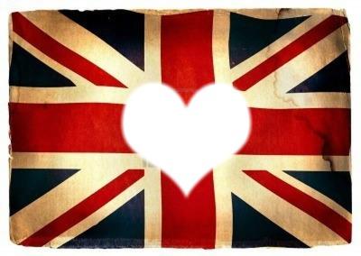 Montage photo drapeau de l 39 angleterre coeur pixiz - Drapeau de l angleterre a colorier ...