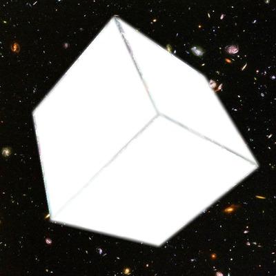 cubo en el spacio :O xD