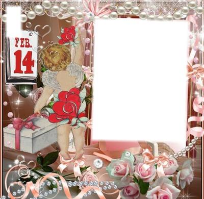 montage photo cadre st valentin pixiz. Black Bedroom Furniture Sets. Home Design Ideas