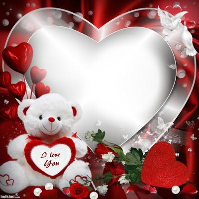 Coeur et ourson