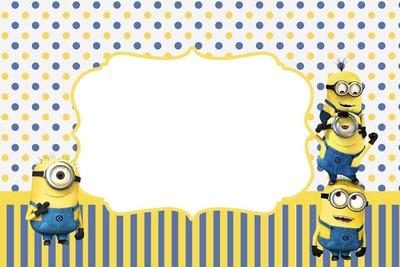 Minion Invites as amazing invitation ideas
