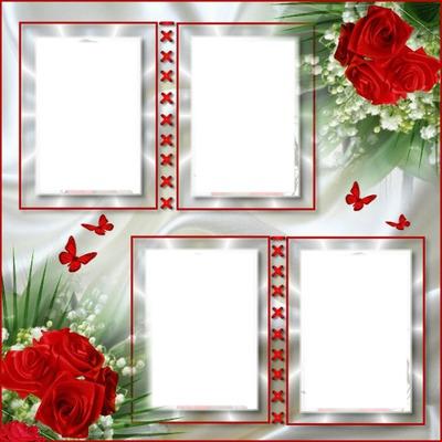 cadre fleurs*