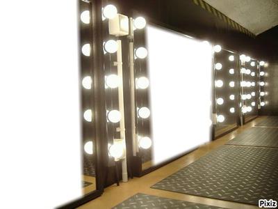 montage photo miroir de star pixiz. Black Bedroom Furniture Sets. Home Design Ideas