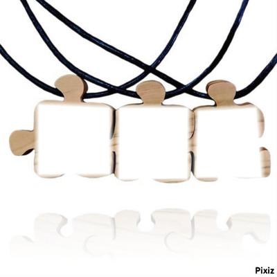 montage photo collier d 39 amiti 3 pixiz. Black Bedroom Furniture Sets. Home Design Ideas