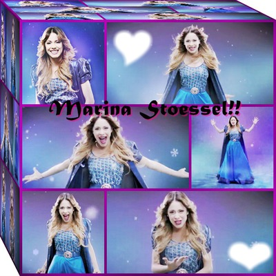 Cubo-Martina Stoessel Frozen