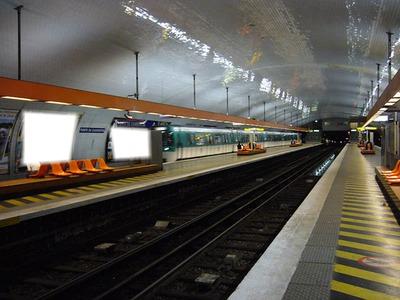 Montage photo station m tro frais vallon pixiz - Porte de charenton metro ...