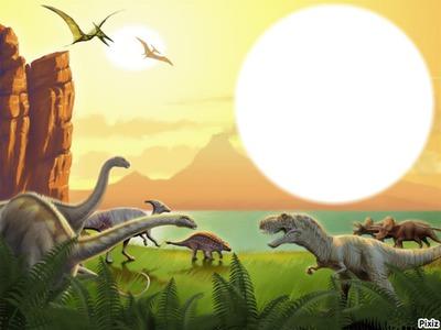Montaje Fotografico Dinosaurios Pixiz