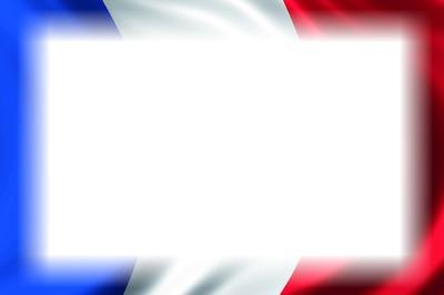手绘国旗的ppt背景