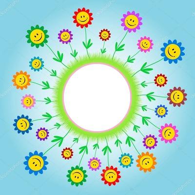 flor e sorriso