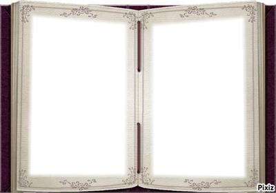 montage photo cadre le livre de l amour pixiz. Black Bedroom Furniture Sets. Home Design Ideas