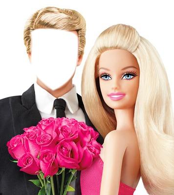 barbie et ken mariage - Pixiz Montage Mariage