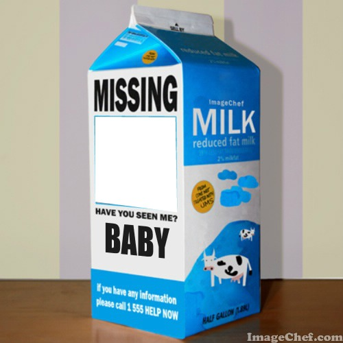 Photo montage Baby Milk - Pixiz