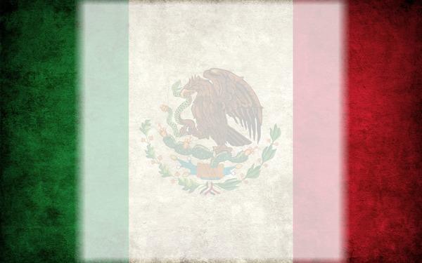 Montaje fotografico Bandera mexicana - Pixiz