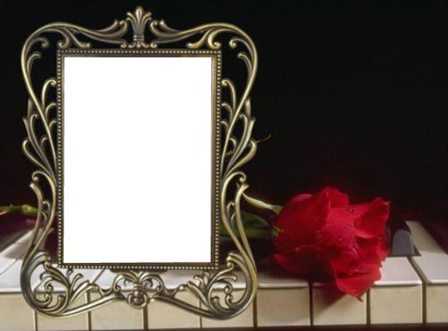 Как сделать траурную рамку к фото 695