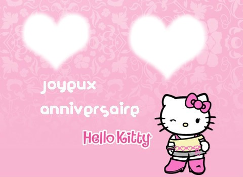 montage photo anniversaire hello kitty pixiz - Hello Kitty Anniversaire
