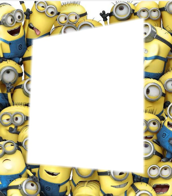 Photo montage minions frame - Pixiz