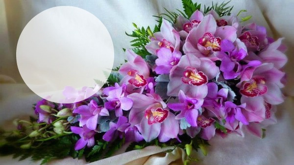 Фото букета орхидей цветов