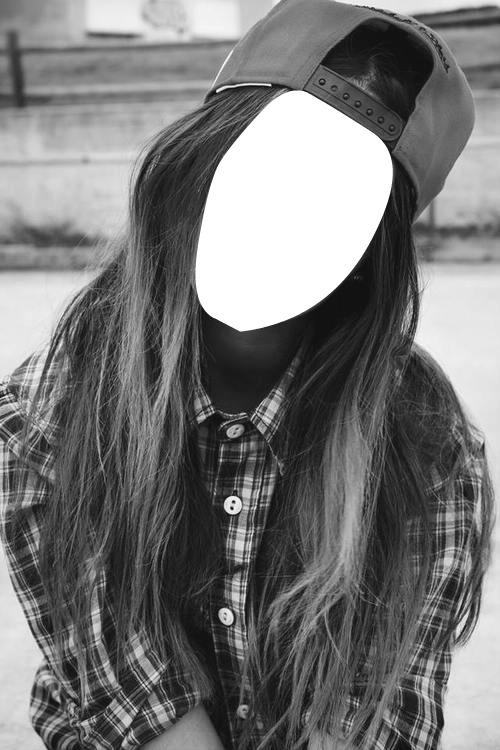 Photo montage chica tumblr - Pixiz