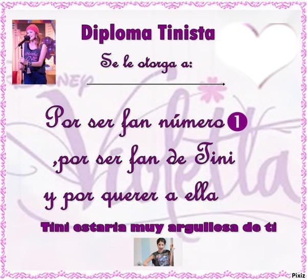 Photo montage Diploma de violetta - Pixiz