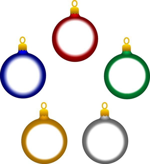 Fotomontagem Bolas De Natal Png Pixiz