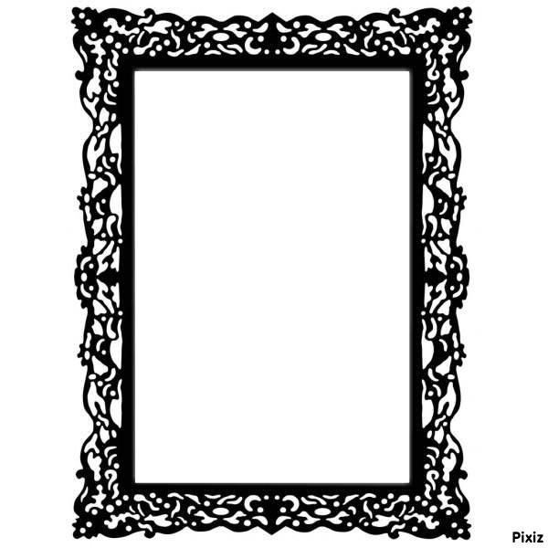 montage photo cadre photo baroque pixiz