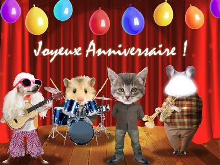 Поздравления на день рождения на французском 2