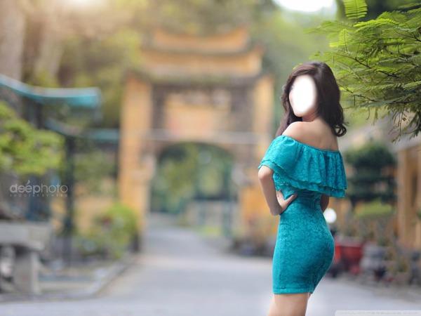 фото азиаток в платьях