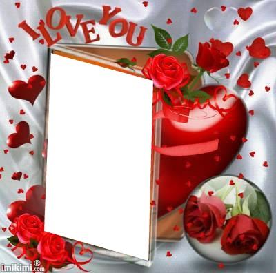 Imikimi Photo Frame Birthday Pixiz Love.Photo Montage I Love You Pixiz