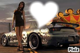 Фото девушек и машин на аву в вк