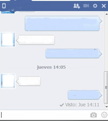 Chat falso