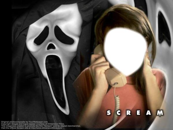 Montaje Fotografico Scream Pixiz