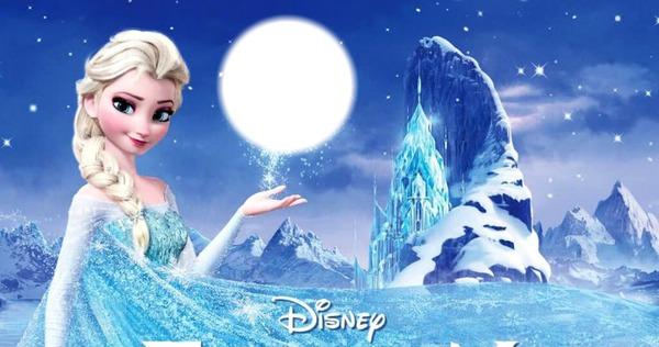 Montage photo la reine des neiges pixiz for Bureau reine des neiges