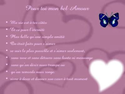 Dissertation poesie amour