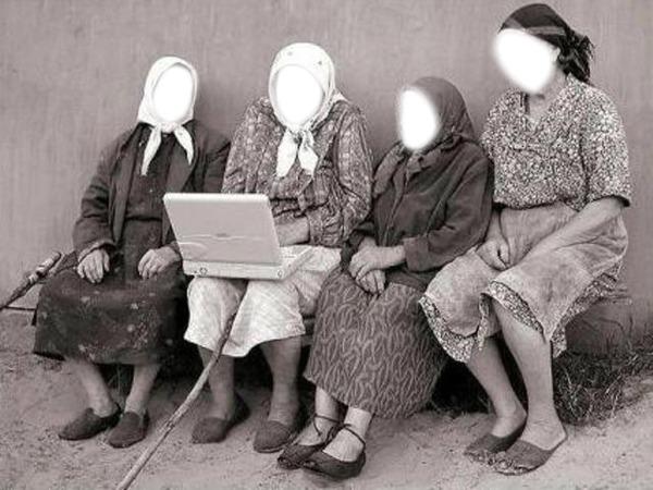 фото кіски бабушек