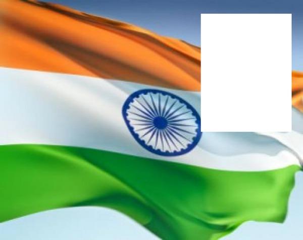 Photo Montage India Flag Pixiz