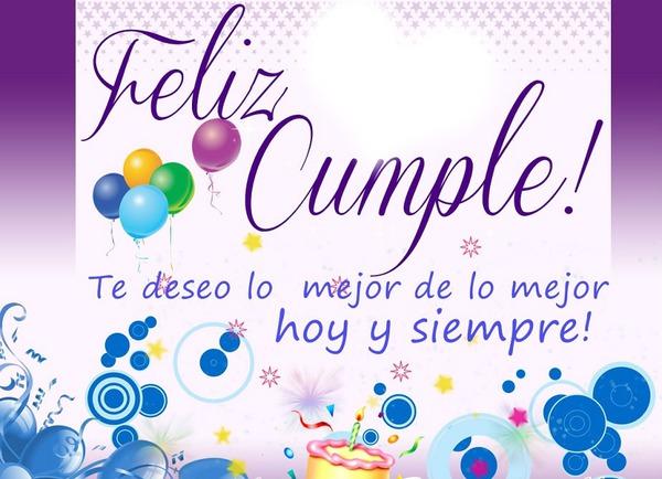 Испанский язык поздравление с днем рождения 61