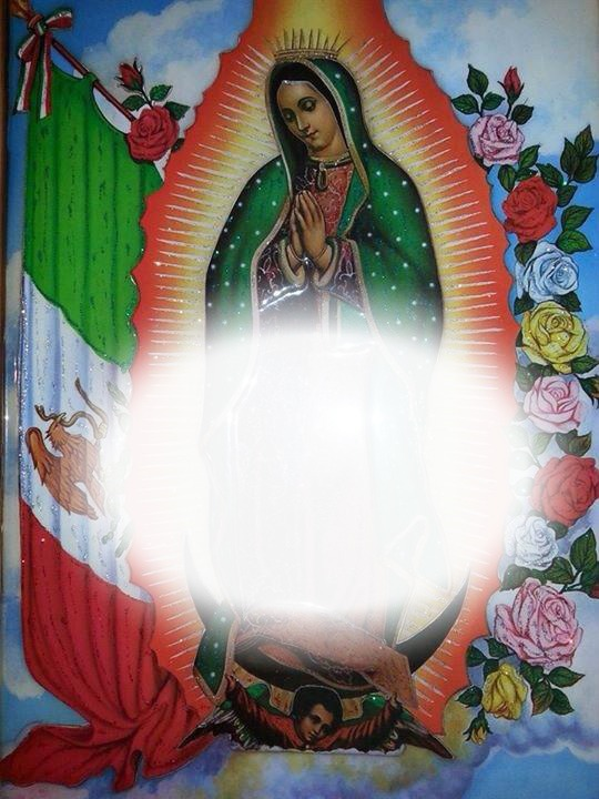Montaje fotografico Virgen de guadalupe - Pixiz