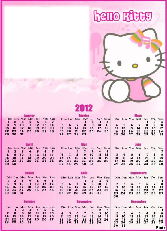 Photo Montage Calendrier Hello Kitty 2012 Pixiz See more ideas about hello kitty, kitty, hello. photo montage calendrier hello kitty 2012 pixiz