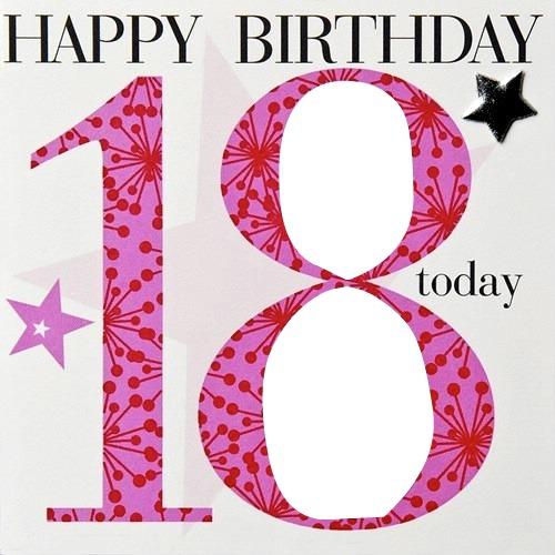 Поздравление на день рождения девочке 18 лет