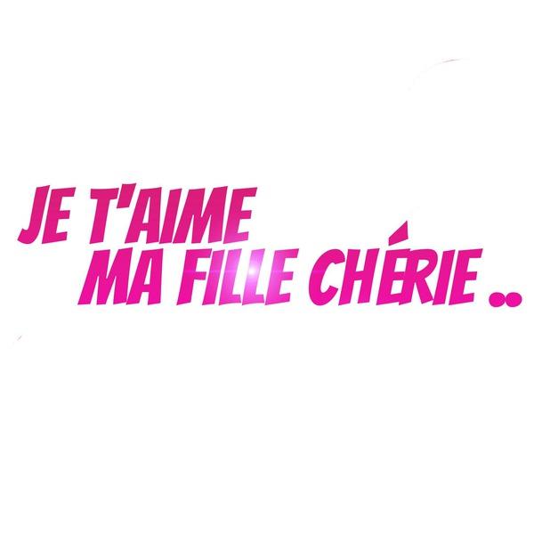 Montaje Fotografico Je Taime Ma Fille Chérie Pixiz