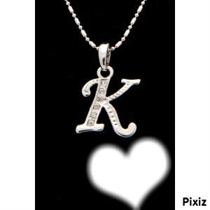 lettre k Photo montage lettre k   Pixiz lettre k