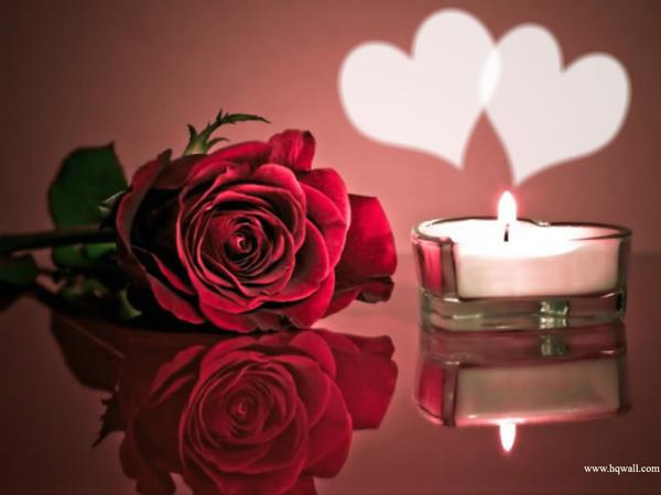 Открытки свечи с цветами