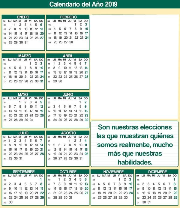 Calendario 18 19.Photo Montage Calendario 2 19 Frase Pixiz