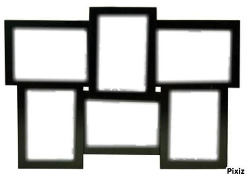 montage photo cadre multi pixiz. Black Bedroom Furniture Sets. Home Design Ideas
