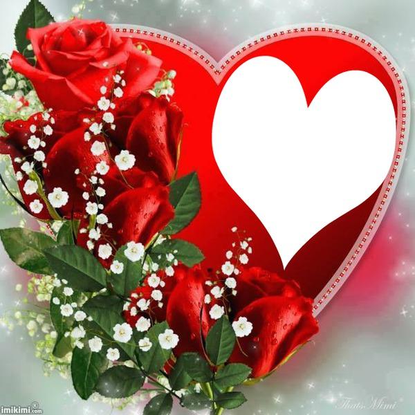 Imikimi Photo Frame Birthday Pixiz Love.Photo Montage Heart Pixiz